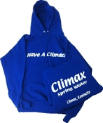 """Have a Climax"" Hoodies"